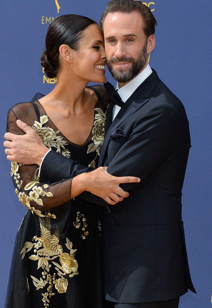 Joseph Fiennes et son épouseMaria Dolores Dieguez