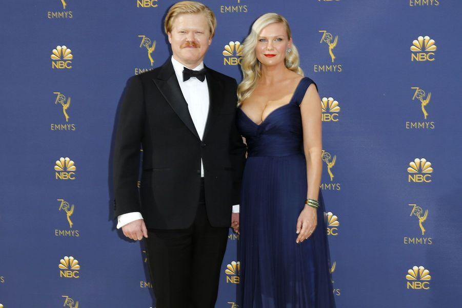 Kirsten Dunst et son fiancé Jesse Plemons