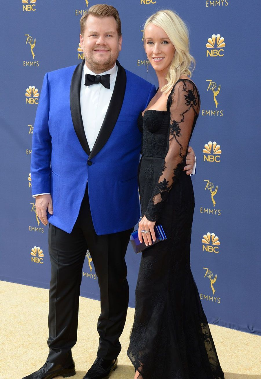 James Corden et sa femme Julia Carey