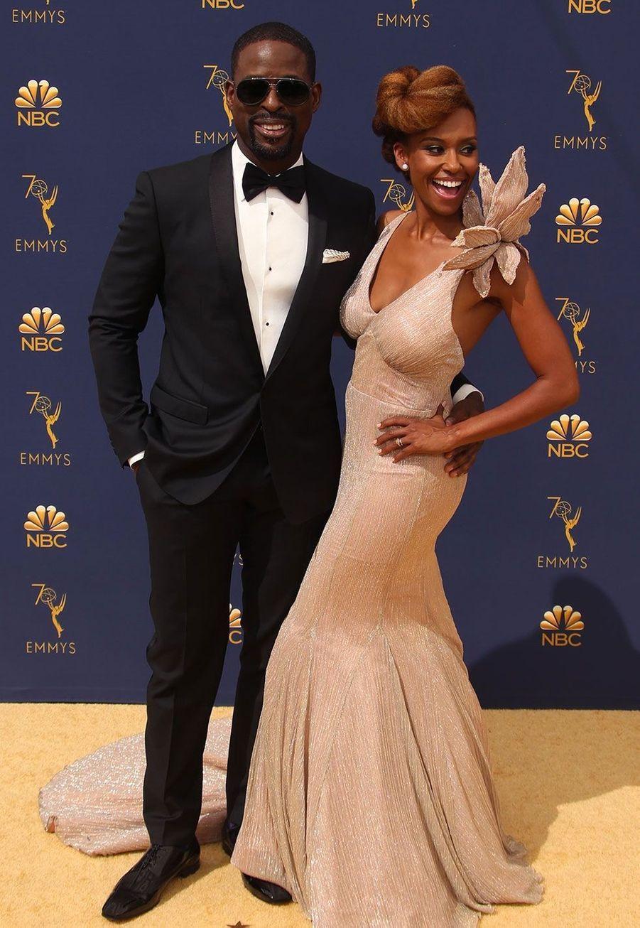 Sterling K. Brown et sa femme Ryan Michelle Bathe