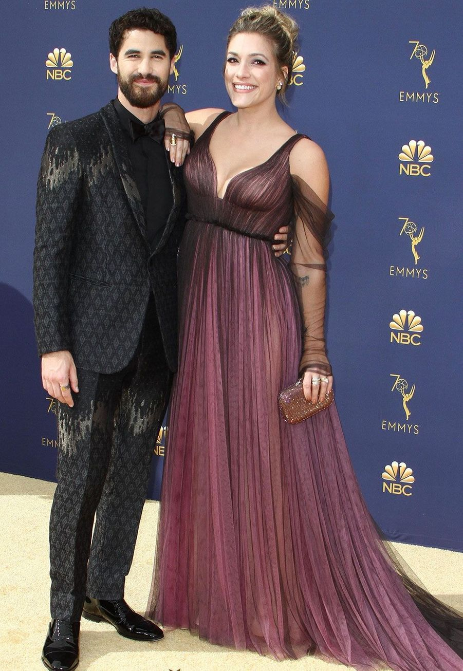 Darren Criss et sa fiancée Mia Swier