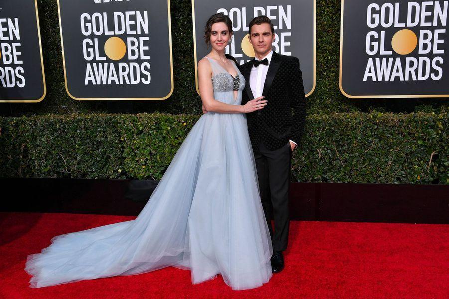 Alison Brie et Dave Franco