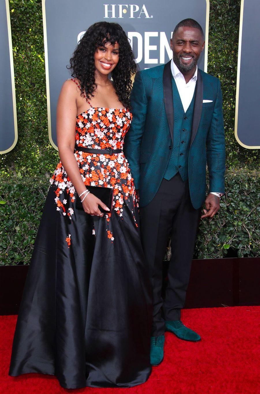 Sabrina Dhowre et Idris Elba