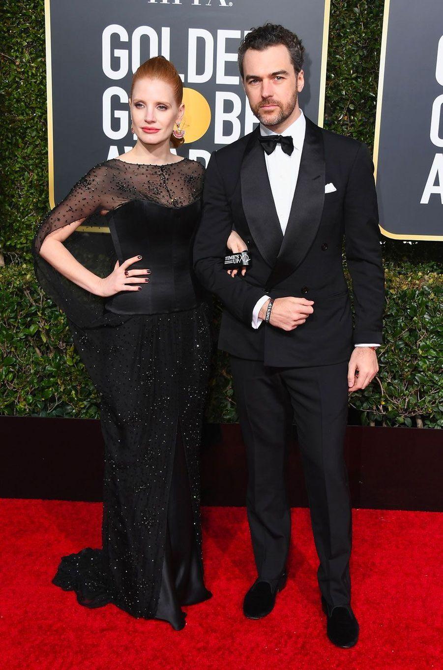 Jessica Chastain et Gian Luca Passi de Preposulo