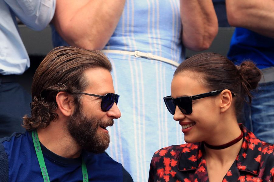 Bradley Cooper et Irina Shayk ont accueilli une petite Lea en mars 2017.