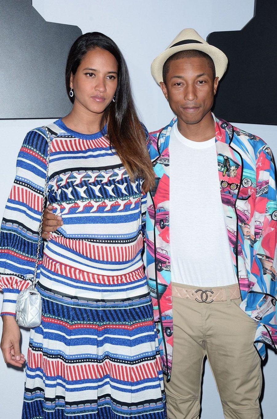 Pharrell Williams et Helen Lasichanh ont eu des triplés en janvier 2017.