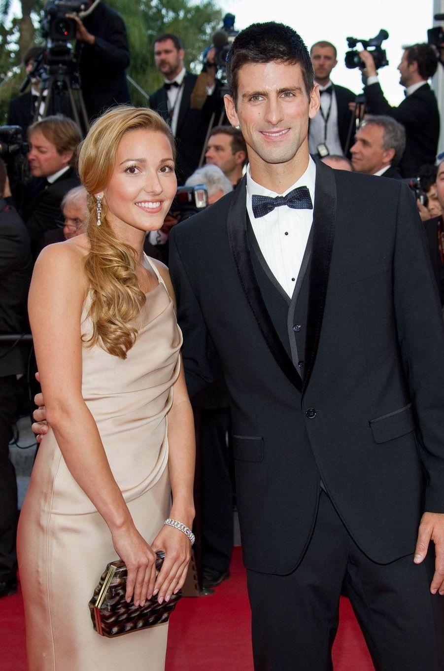 Novak et JelenaDjokovic ont eu une petite Tara, née le 2 septembre 2017.