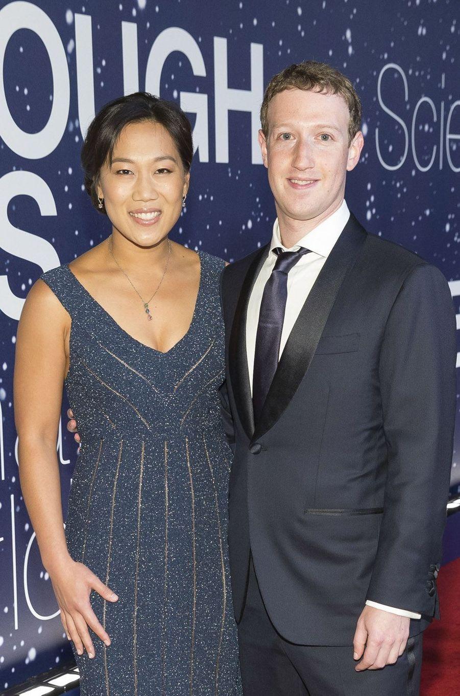 Mark Zuckerberg et Priscilla Chan ont accueilli la petite August en août 2017.