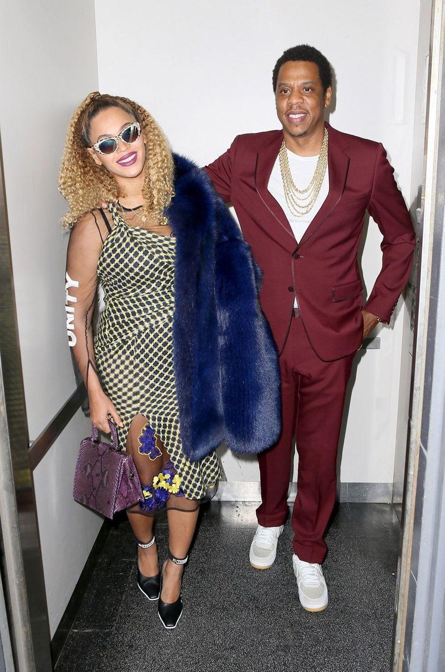 Jay-Z et Beyoncé ont accueilli les jumeaux Sir et Rumi en juin 2017.