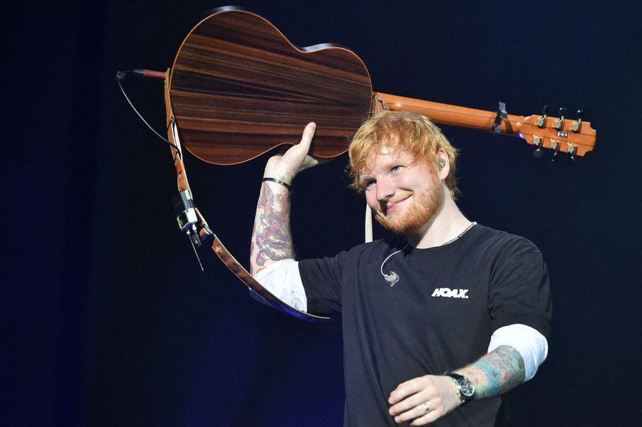 23 - Ed Sheeran, 64 millions de dollars.