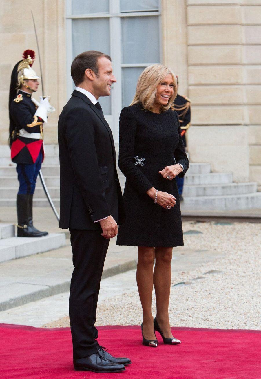 Emmanuel Macron et Brigitte Trogneux, mariés depuis 2007, ont 24 ans de différence d'âge.