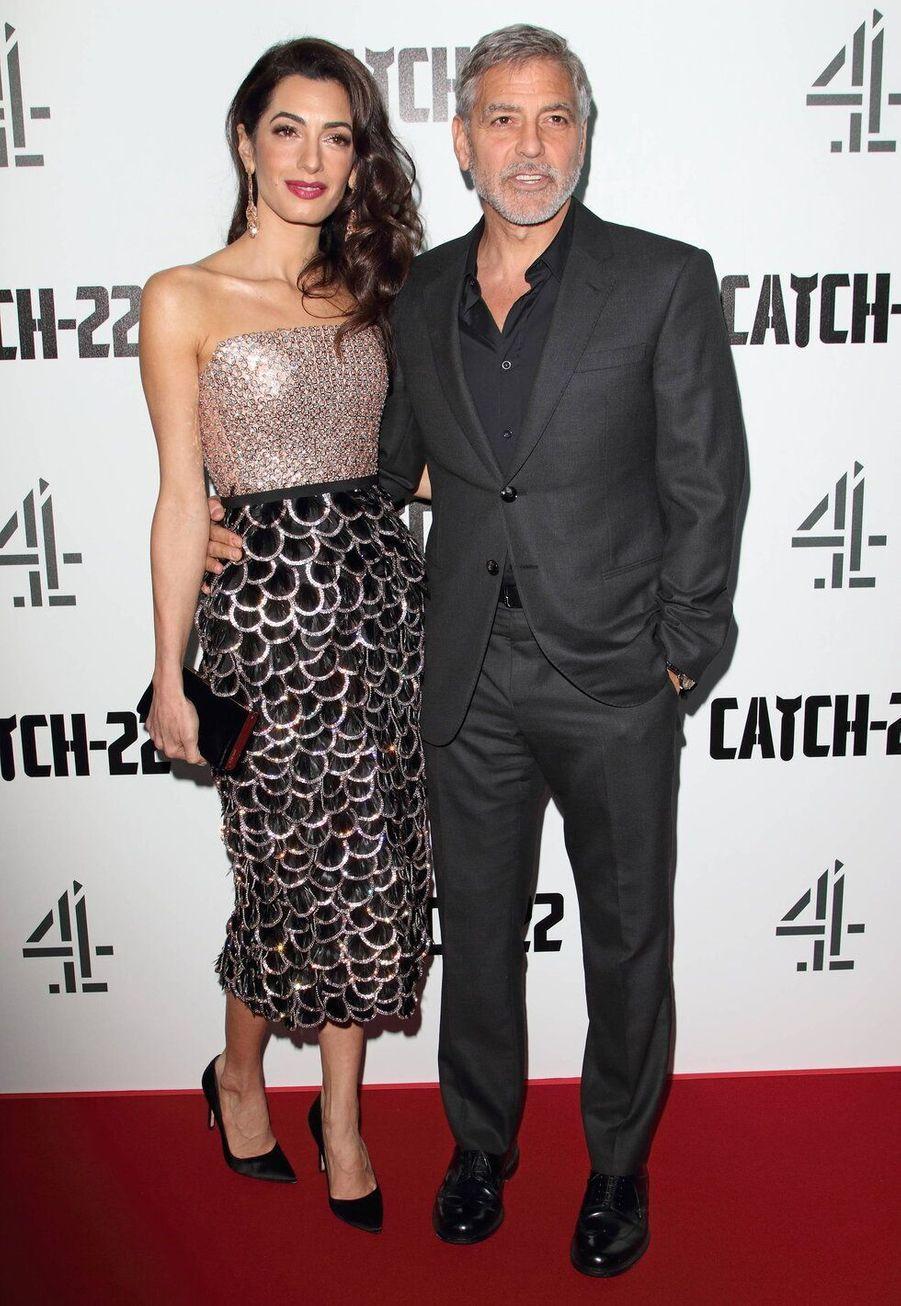 George Clooney et AmalAlamuddin, mariés depuis 2014 ont 17 ans de différence d'âge.