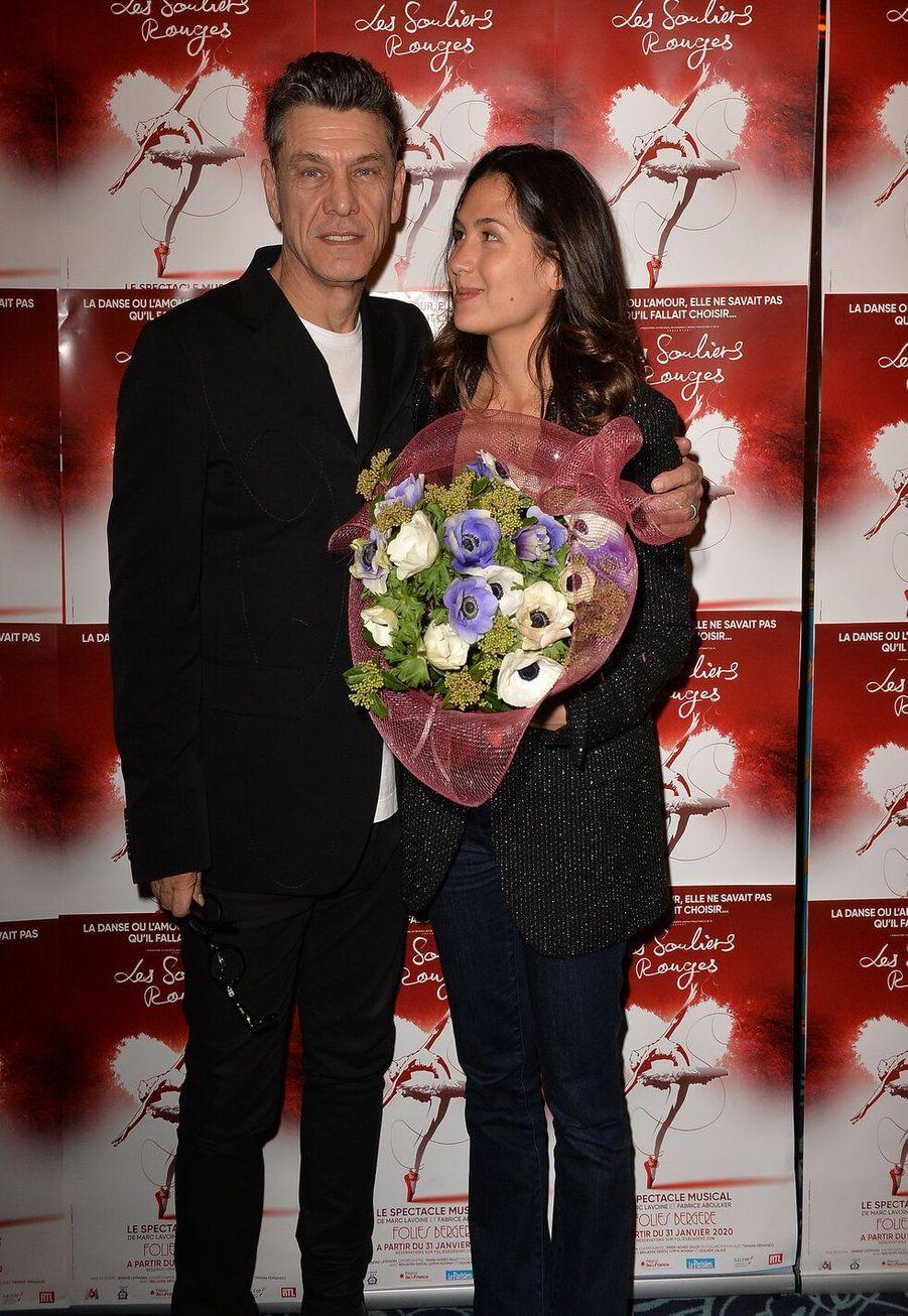 Marc Lavoine et la romancière Line Papin, ensemble depuis 2018, ont 33 ans de différence d'âge.