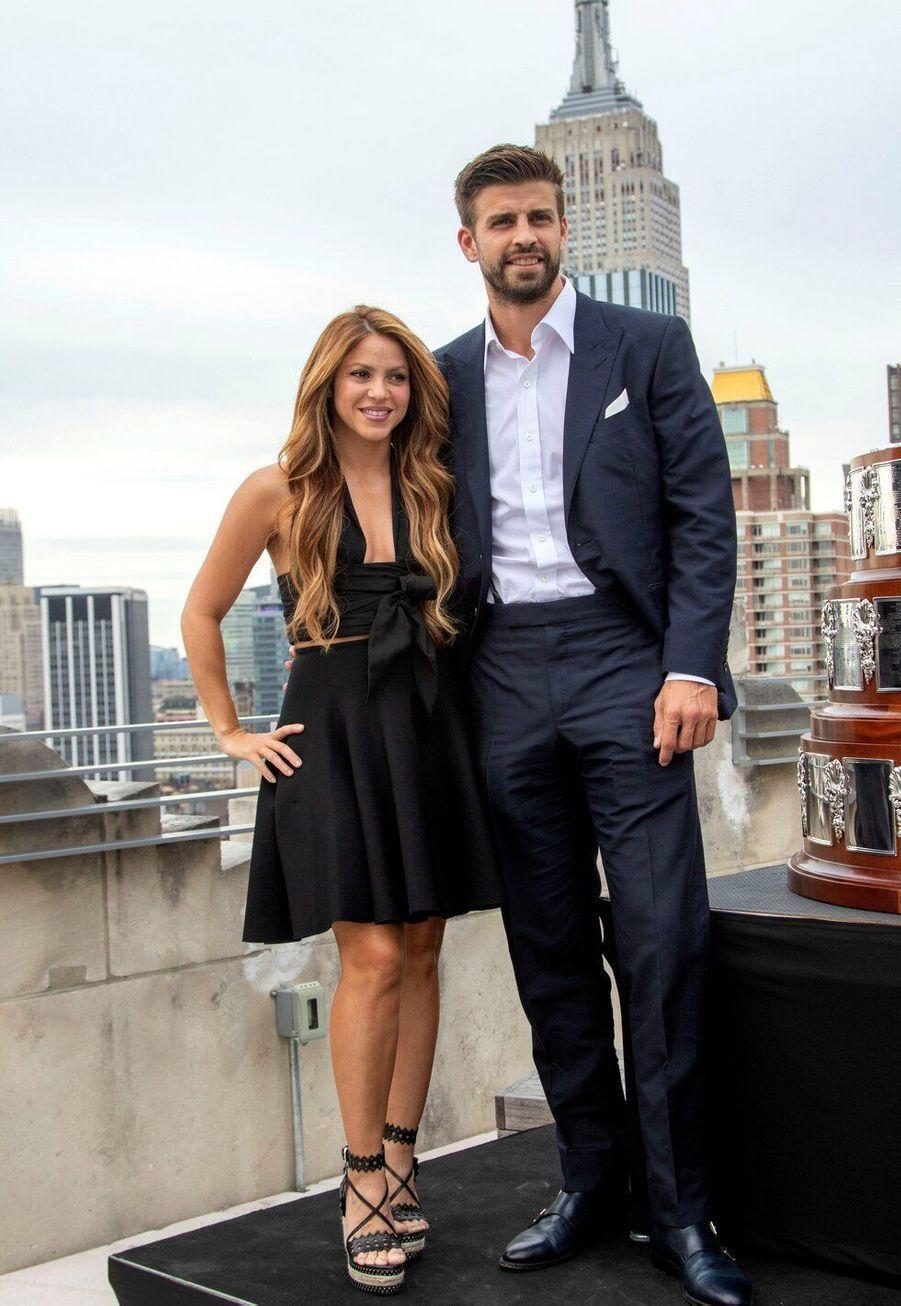 Shakira et le footballeur Gerard Piqué, en couple depuis 2011, ont 10 ans de différence d'âge.