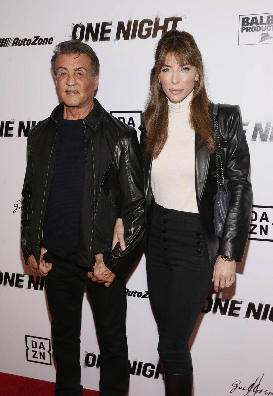 Sylvester Stallone et Jennifer Flavin, mariés depuis 1997, ont 22 ans de différence d'âge.