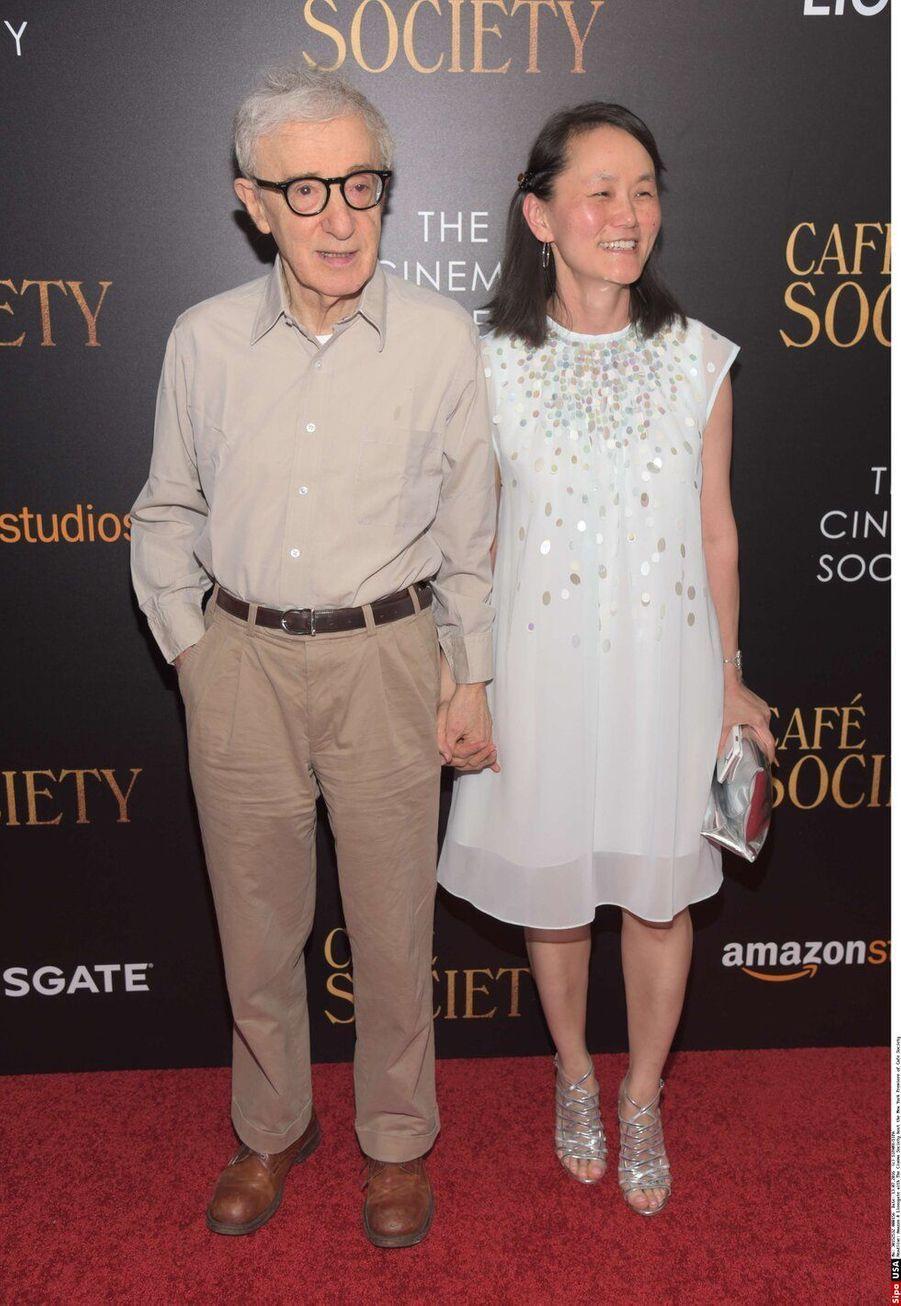 Woody Allen et Soon Yi Previn, mariés depuis 1997, ont 35 ans de différence d'âge.