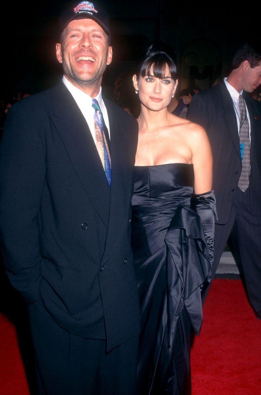 Demi Moore et Bruce Willis en 1995. Leur mariage a duré de 1987 à 2000.