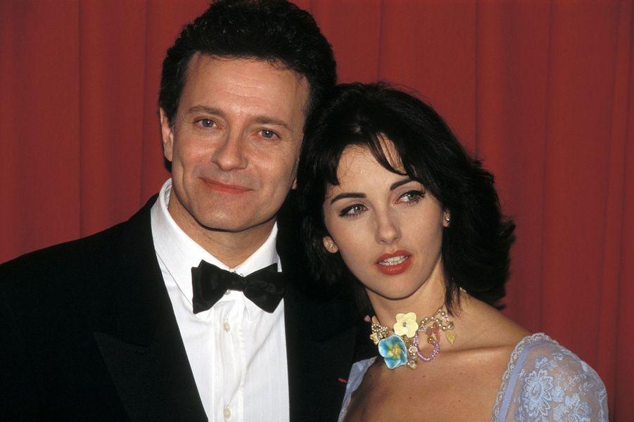 Francis Huster et Cristiana Reali en 1995. Ils se sont séparés en 2008 après 17 ans d'amour.