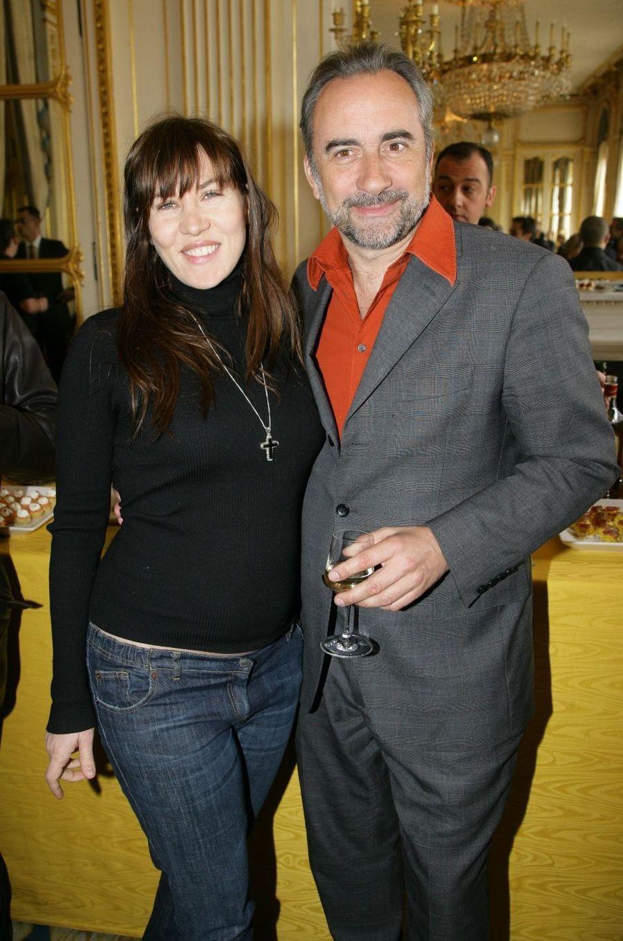 Mathilde Seigner et Antoine Duléry en 2007. Ils formaient un couple de 1994 à 1998.