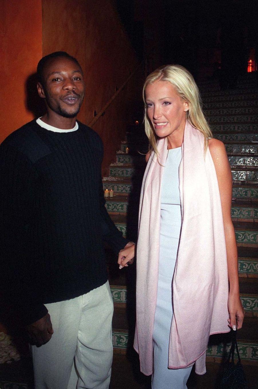 Ophélie Winter et Mc Solaar en 1999. Leur relation a duré de 1995 à 2001.