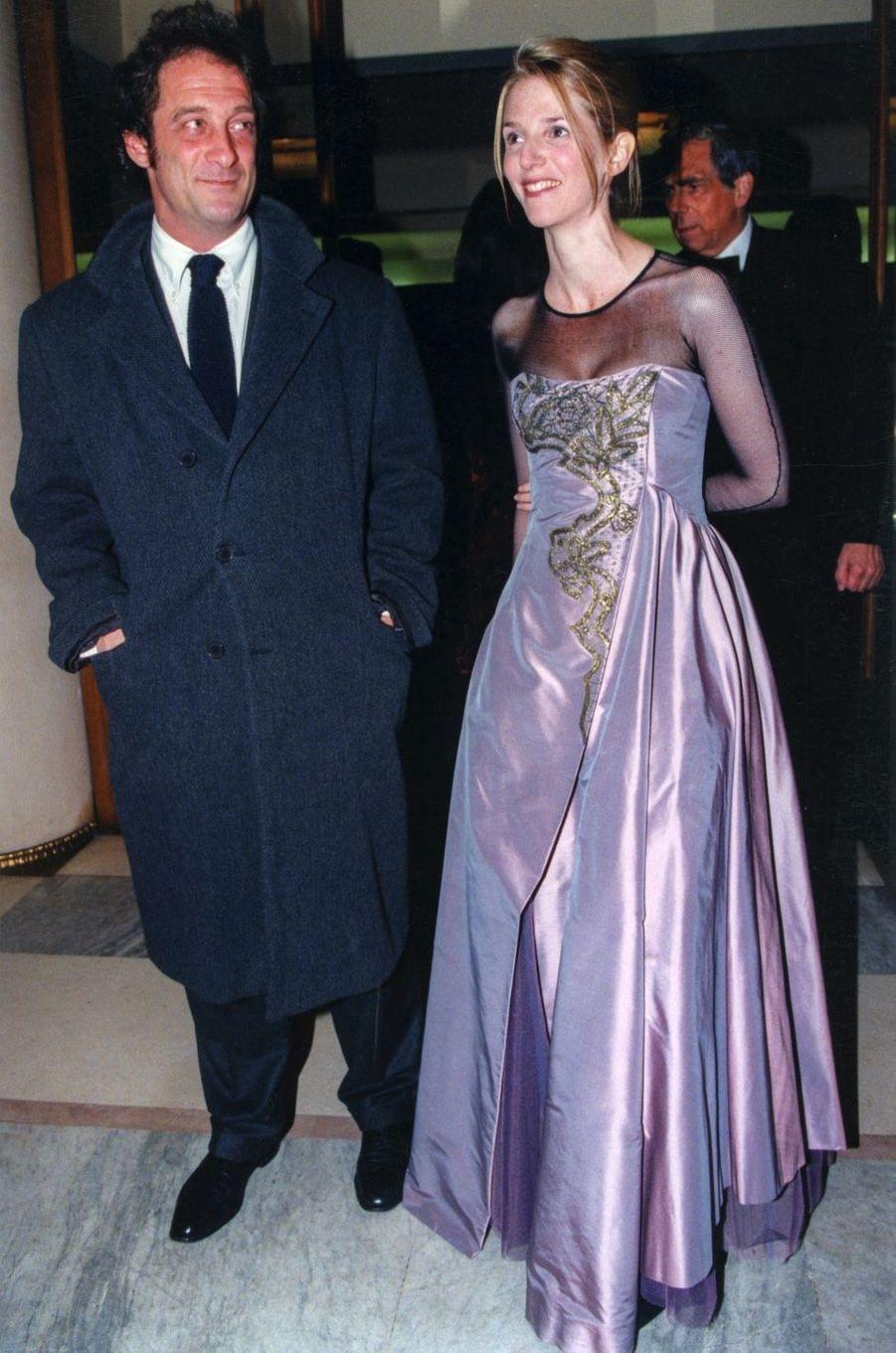 Sandrine Kiberlain et Vincent Lindon en 1997. Ils étaient mariés de 1998 à 2008.