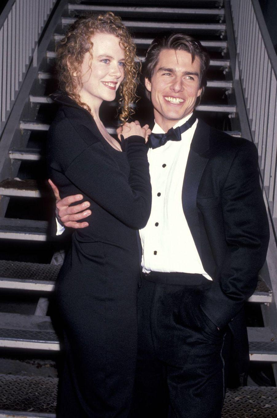 Tom Cruise et Nicole Kidman en 1991. Leur mariage a duré de 1990 à 2001.