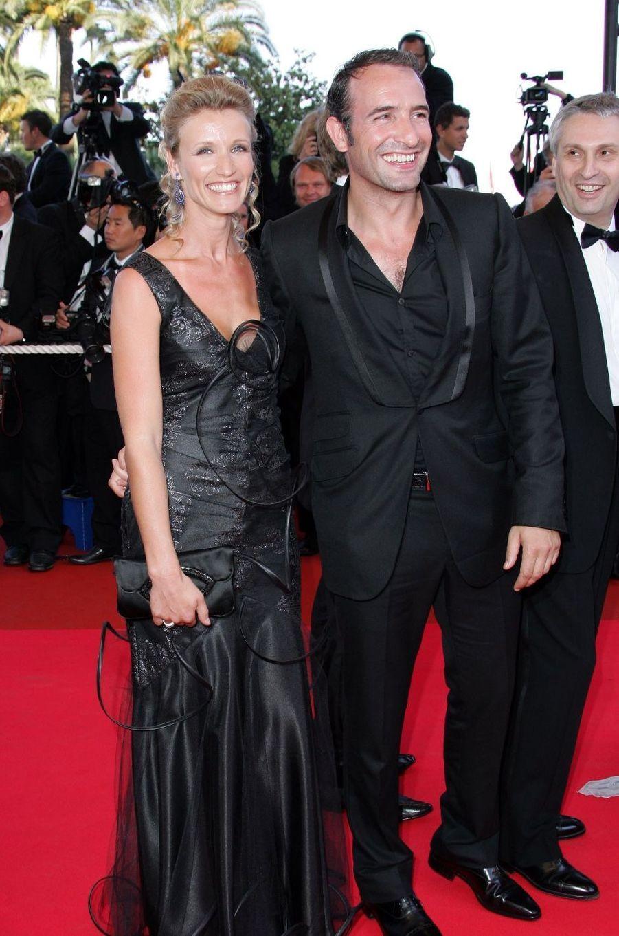 Alexandra Lamy et Jean Dujardin en 2007. Ils ont été mariés de 2009 à 2014.