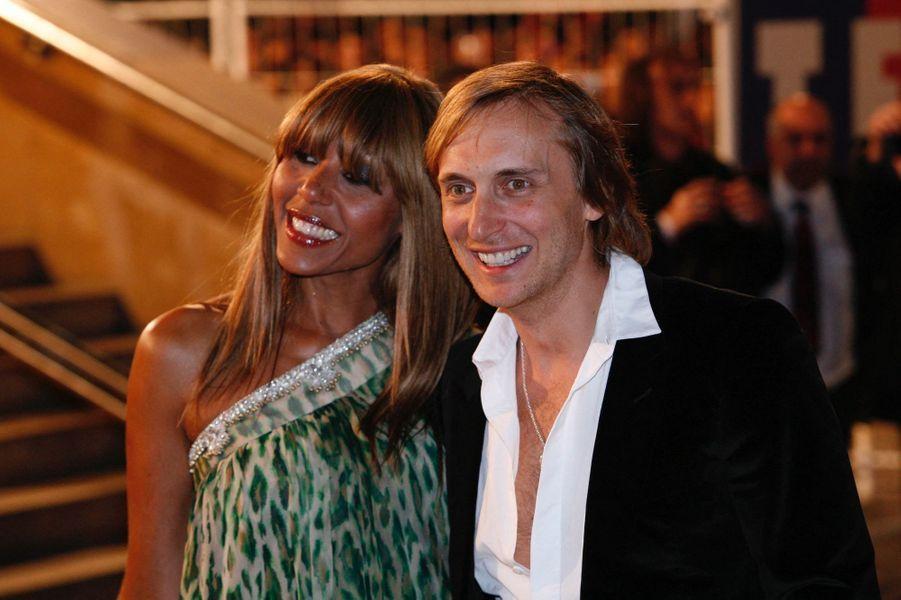David et Cathy Guetta en 2008. Ils se sont mariés en 1992 et ont divorcé en 2014.
