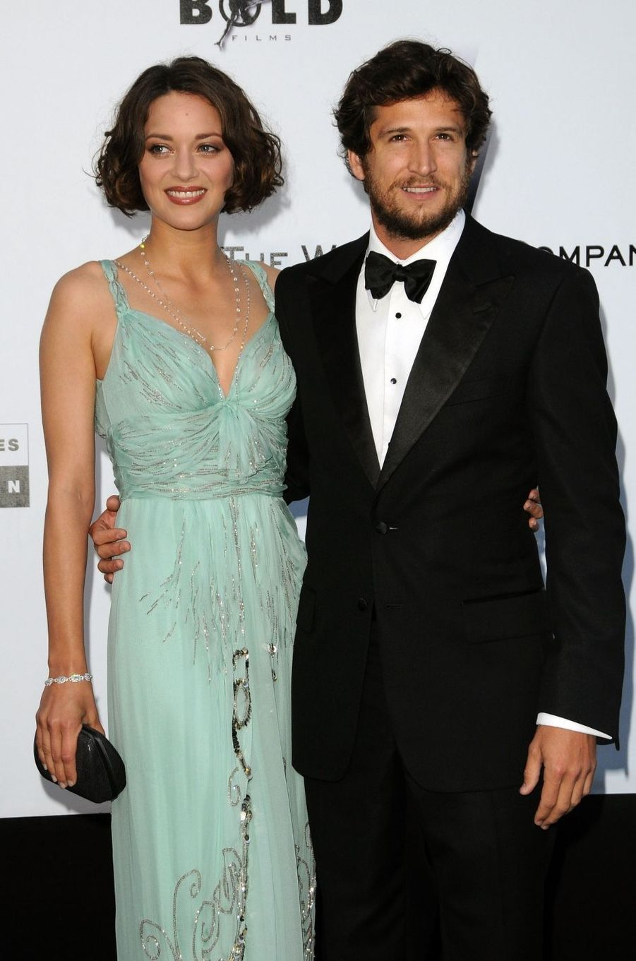 Marion Cotillard et Guillaume Canet en 2009. Ils sont ensemble depuis 2007 et ont eu deux enfants, Marcel et Louise.