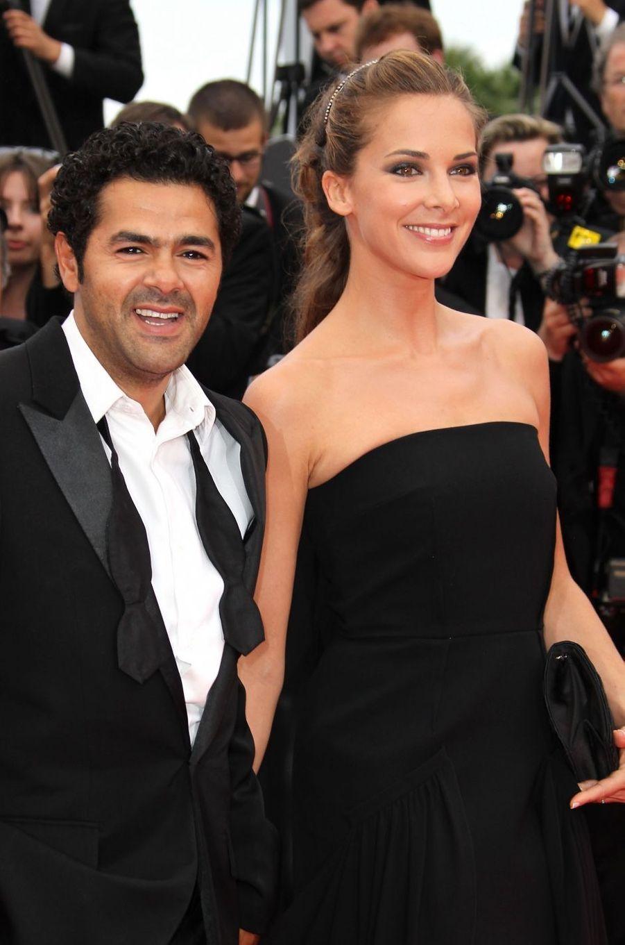 Melissa Theuriau et Jamel Debbouze en 2010. Ils sont mariés depuis 2008 et ont eu deux enfants, Léon et Lila.