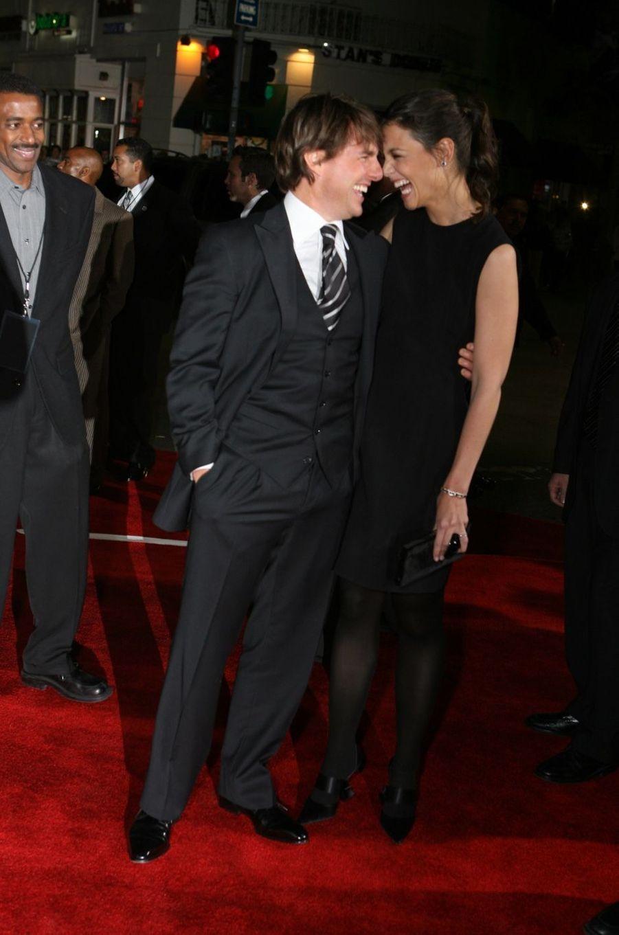 Tom Cruise et Katie Holmes en 2006. Ils ont été mariés de 2006 à 2012 et ont eu une fille, Suri.