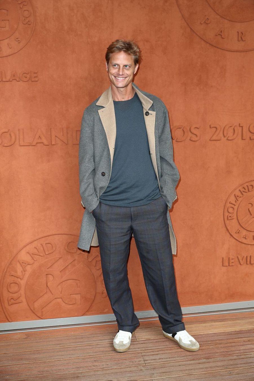 Arnaud Lemaireà Roland-Garros le 30 mai 2019