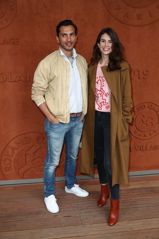 Samir Boitard et Louise Monotà Roland-Garros le 30 mai 2019