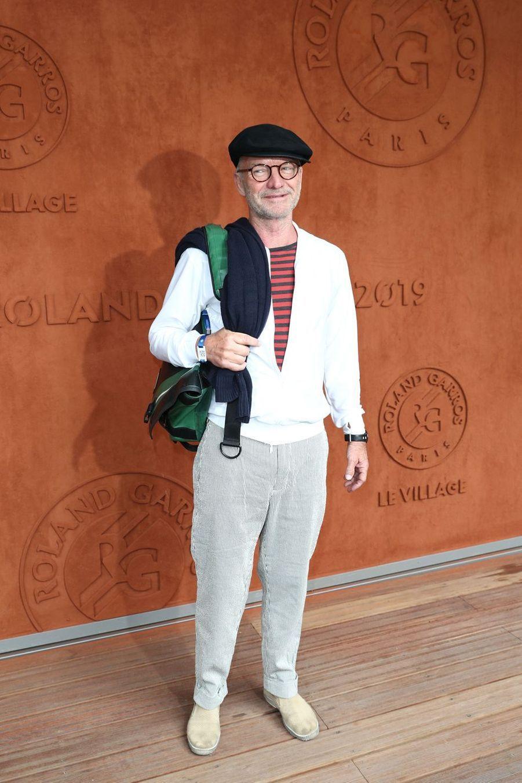 Sting à Roland-Garros le 30 mai 2019
