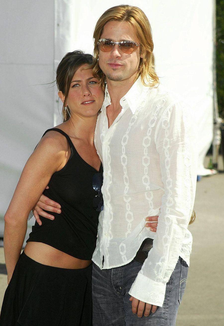 Jennifer Aniston et Brad Pitt à l'Independent Feature Project (IFP) à Los Angeles en mars 2003