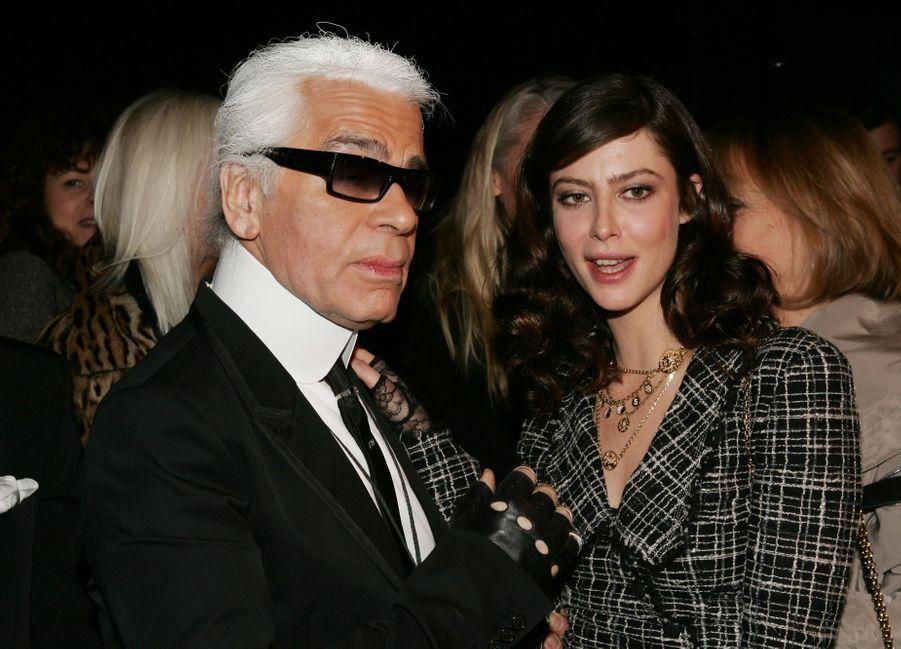 AvecAnna Mouglalis en 2005