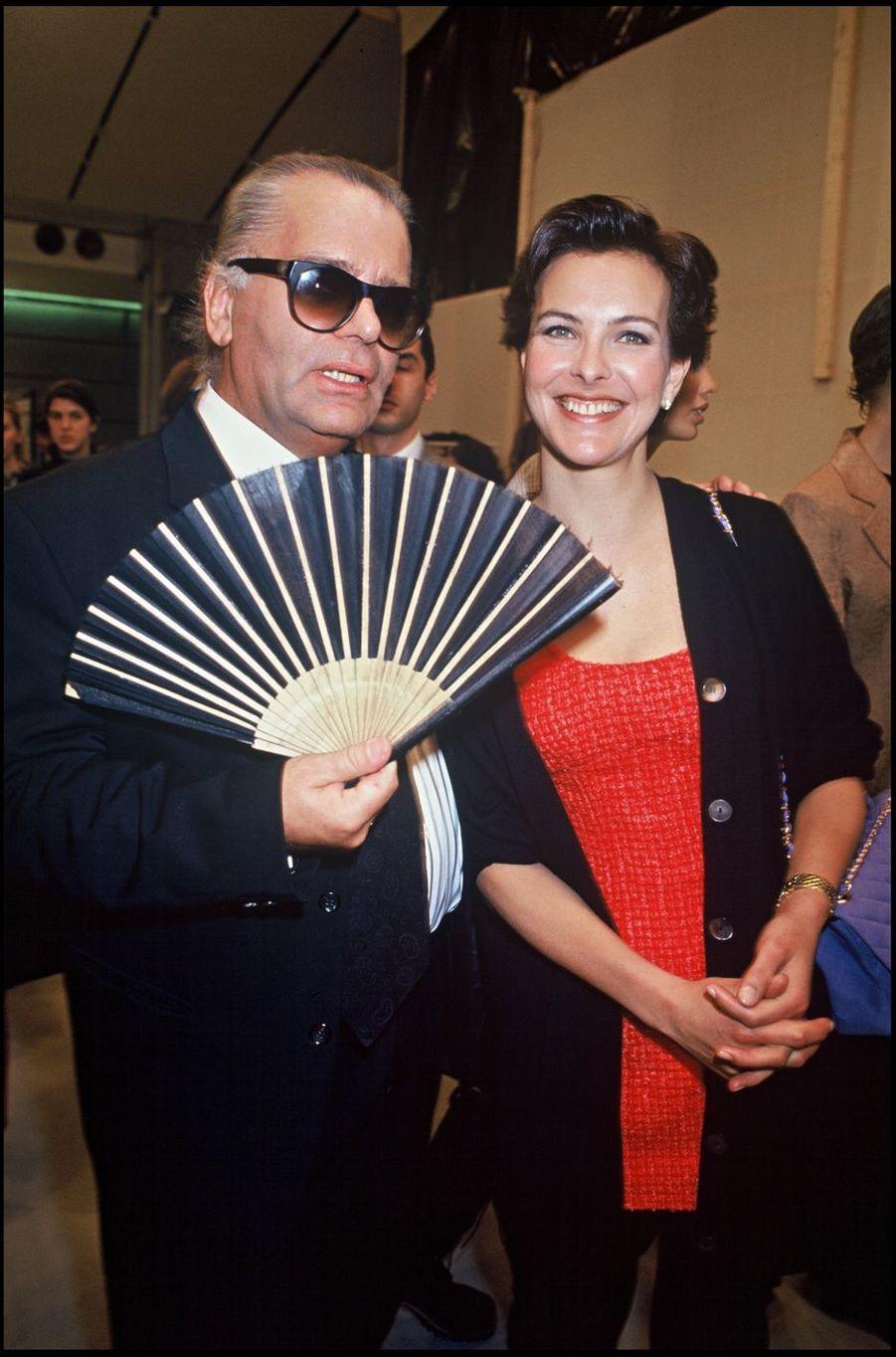 AvecCarole Bouquet en 1994