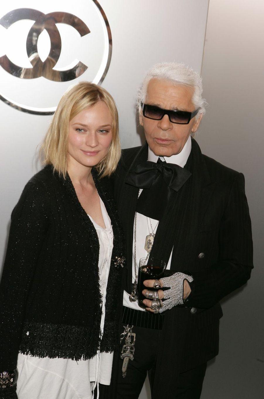 En 2005 avec Diane Kruger