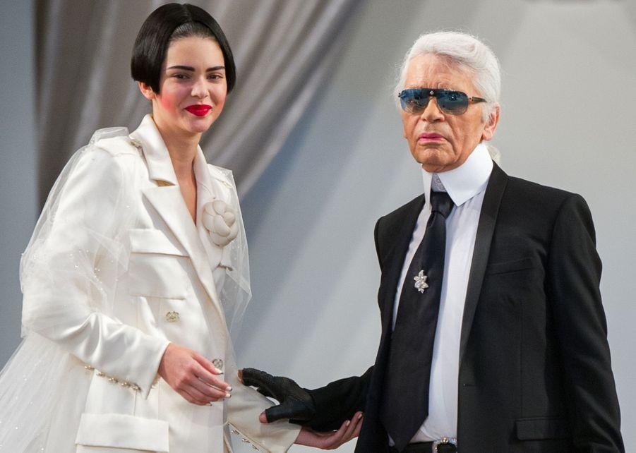AvecKendall Jenner en 2015