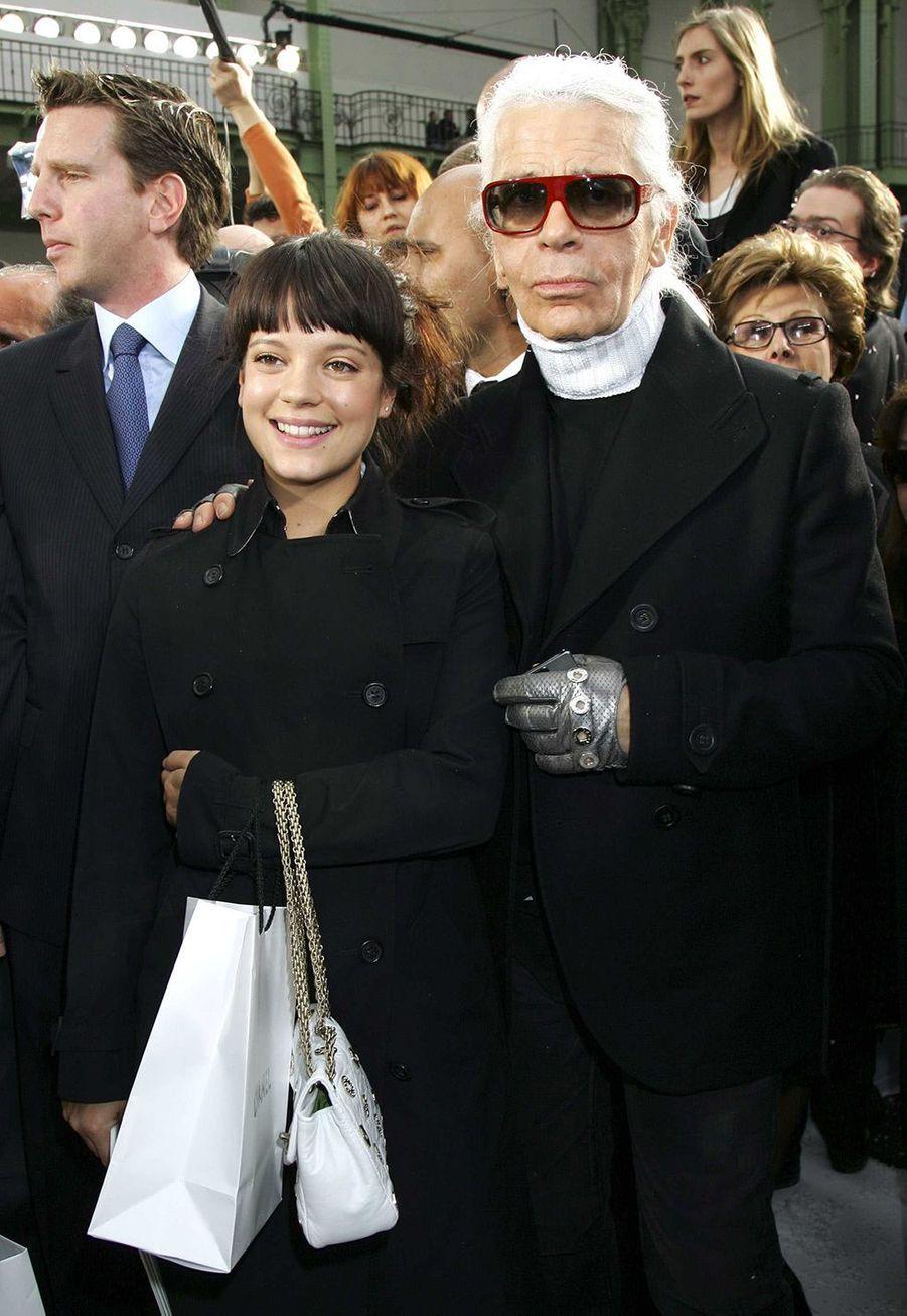 AvecLily Allen en 2007