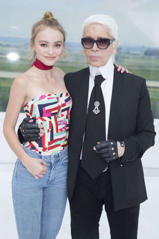 AvecLily-Rose Depp en 2015