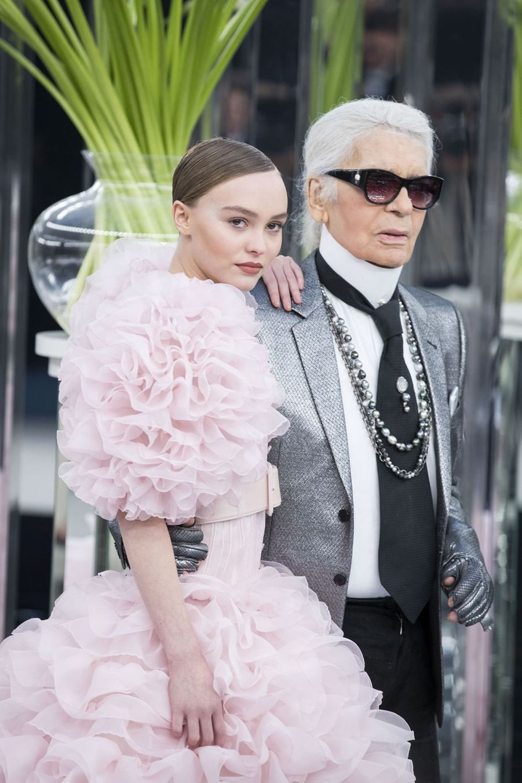 AvecLily-Rose Depp en 2017