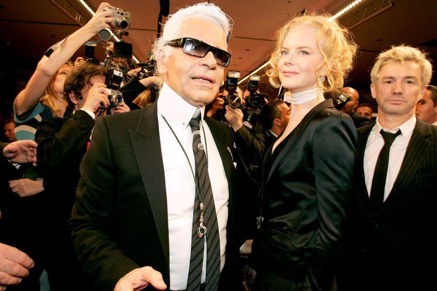 AvecNicole Kidman en 2004