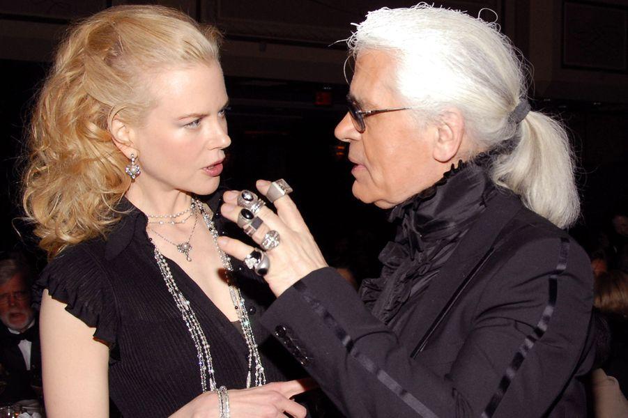 AvecNicole Kidman en 2006