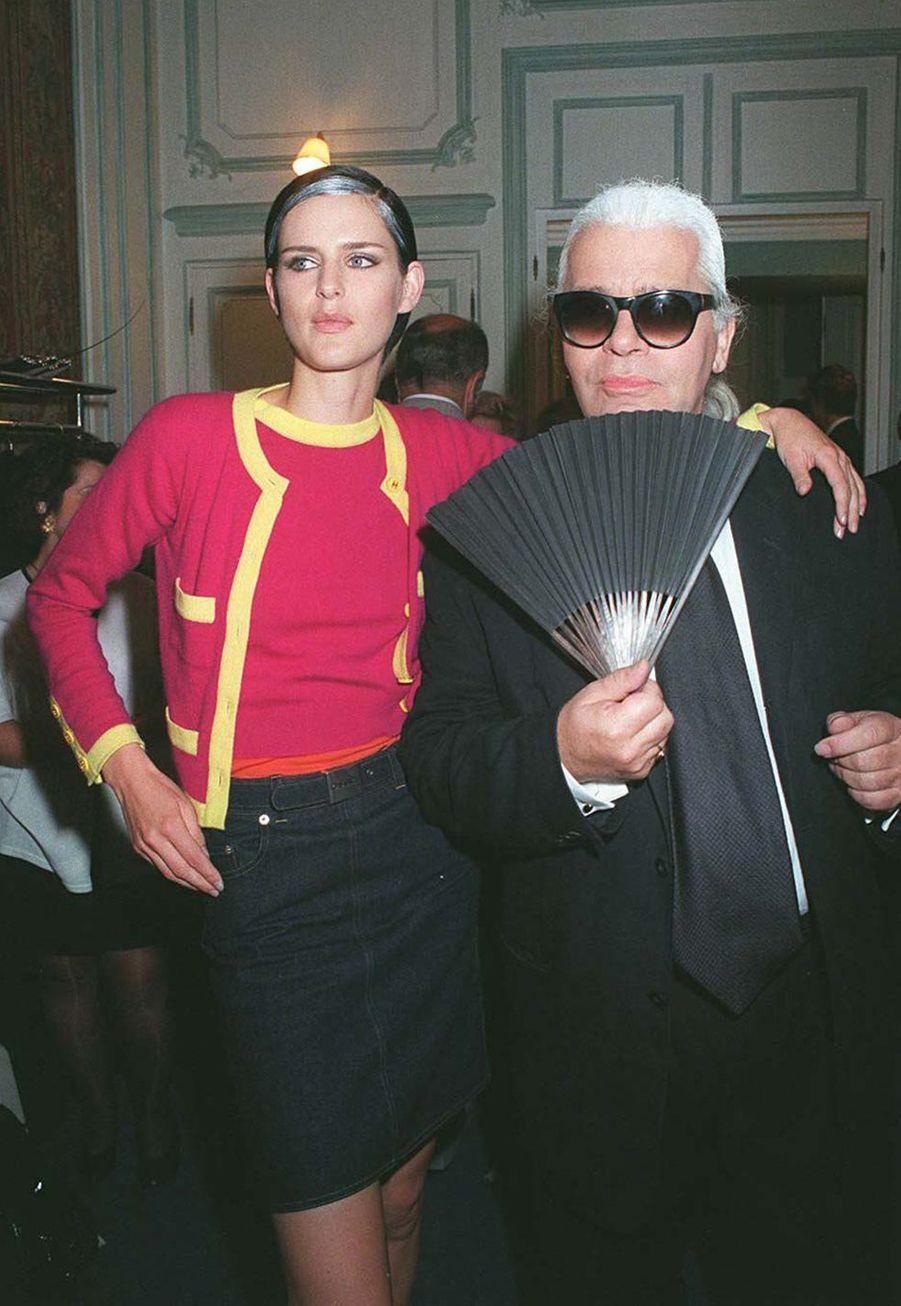 En 1996 avecStella Tennant