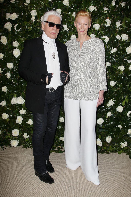 AvecTilda Swinton en 2013