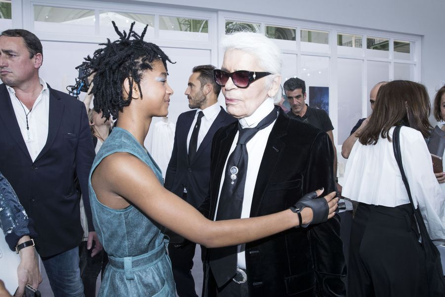 Avec Willow Smith en 2016