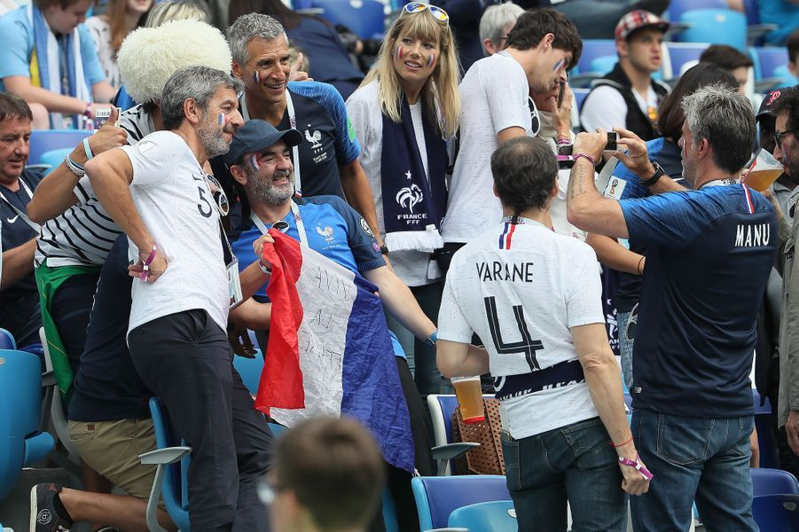 Les supporters avant le match