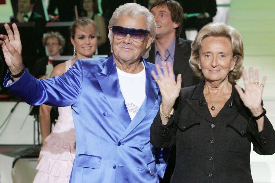 Michou avec Bernadette Chirac