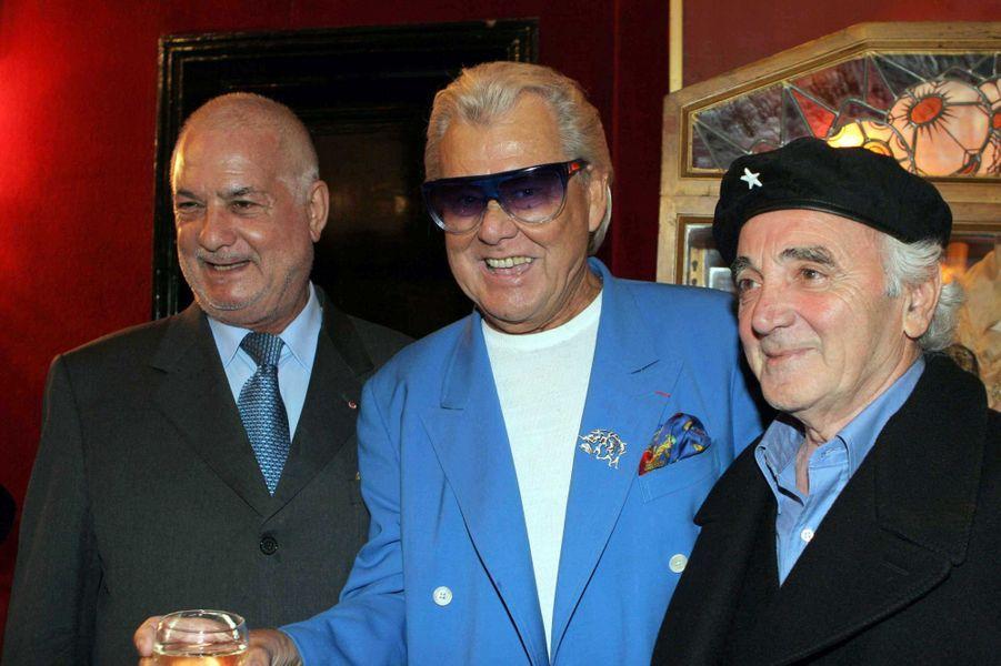 Michou avec Charles Aznavour